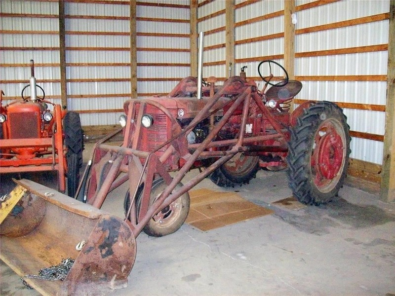 1952 Farmall Super C Tractor