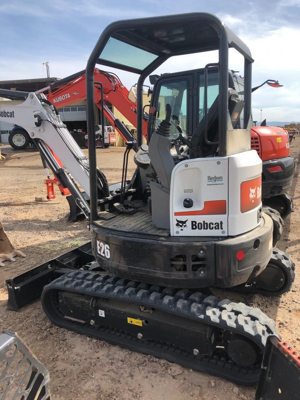 Bobcat E26 Excavators and Mini Excavator