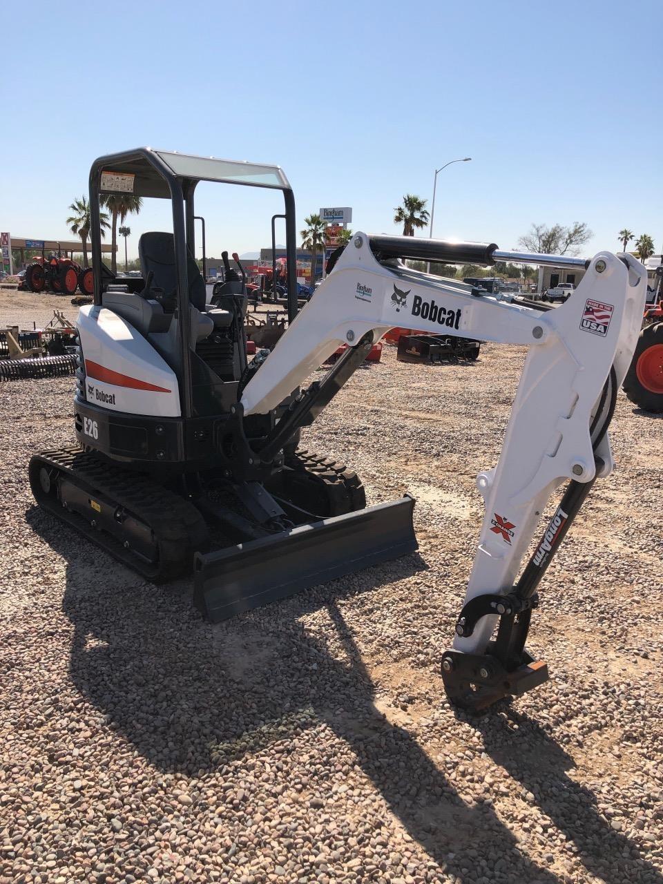 Bobcat E26 Excavators and Mini Excavator