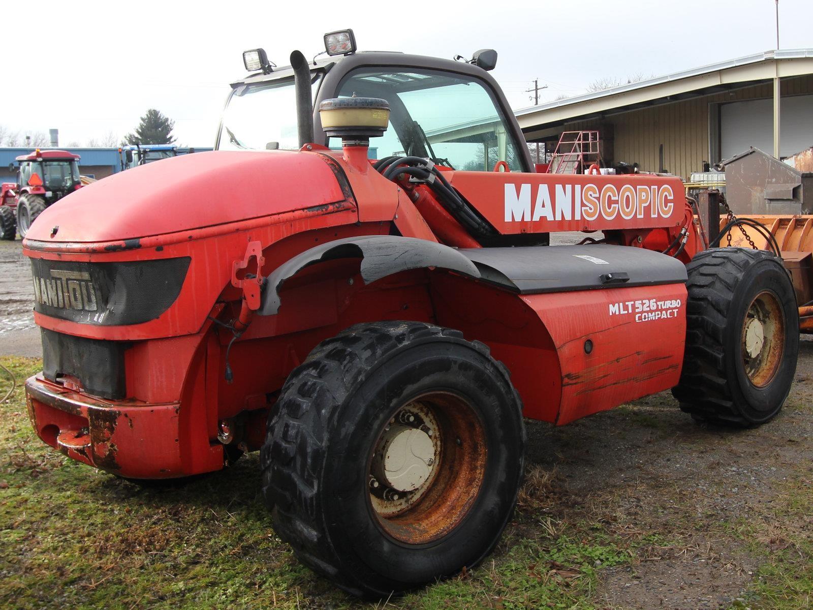 2004 Manitou MLT526 Telehandler