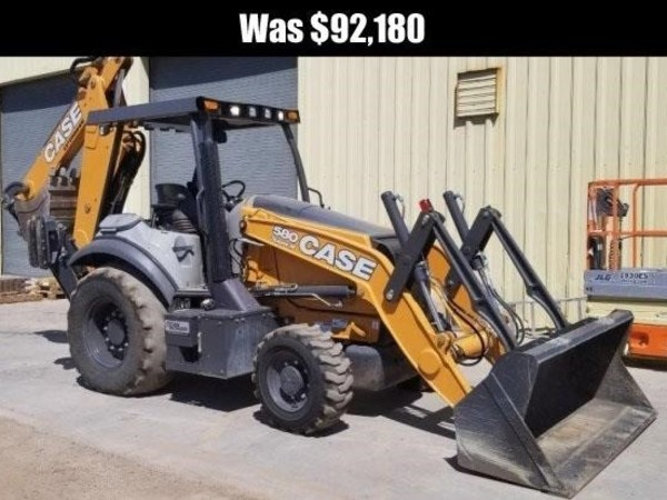 Used Case 580SN Backhoes for Sale   Machinery Pete