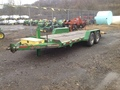 2015 John Deere BWISE MANUFACTURING Flatbed Trailer