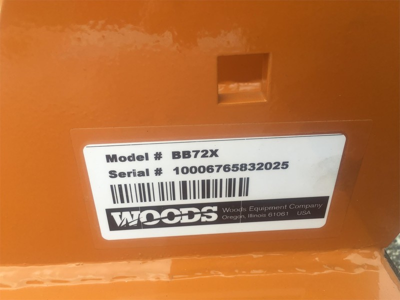 2018 Woods BB72X Rotary Cutter