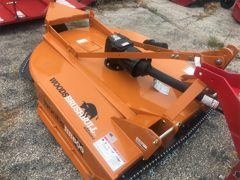 2018 Woods BB600X Rotary Cutter