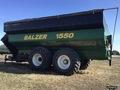 2009 Balzer 1550 Grain Cart