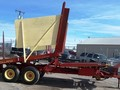 1971 New Holland 1032 Bale Wagons and Trailer