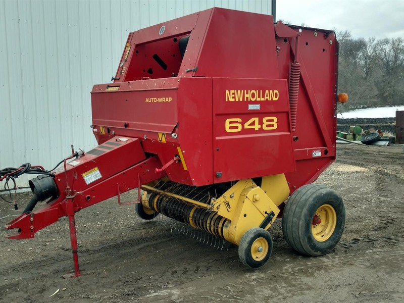Used New Holland Round Balers for Sale | Machinery Pete