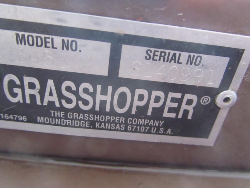 2011 Grasshopper 723T Lawn and Garden
