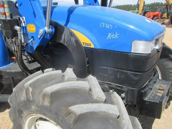 2007 New Holland TD80D Tractor