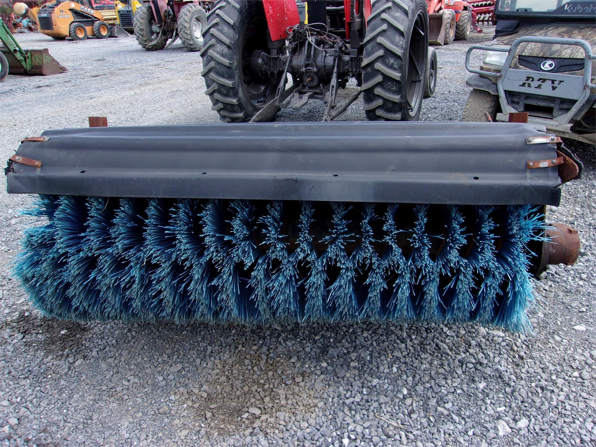 """Bobcat 68"""" Angle Broom Loader and Skid Steer Attachment"""