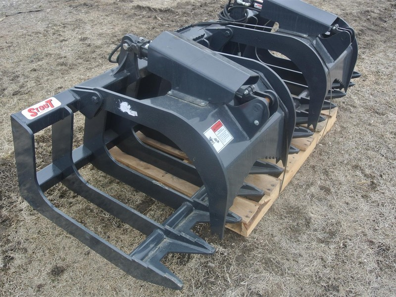 Stout XHD84-6 Loader and Skid Steer Attachment
