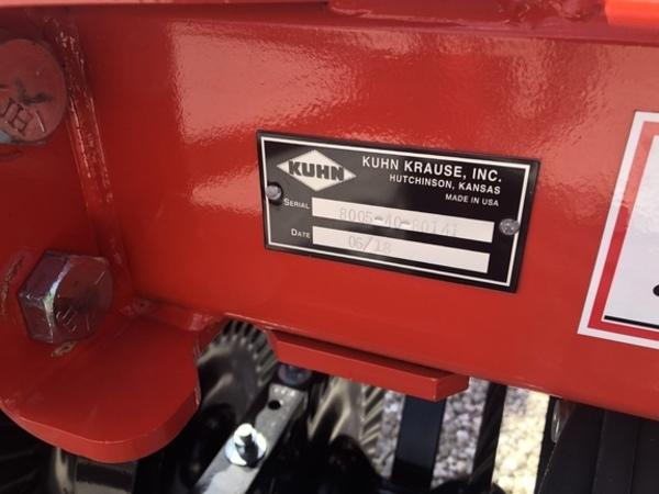 2018 Krause 8005 Disk
