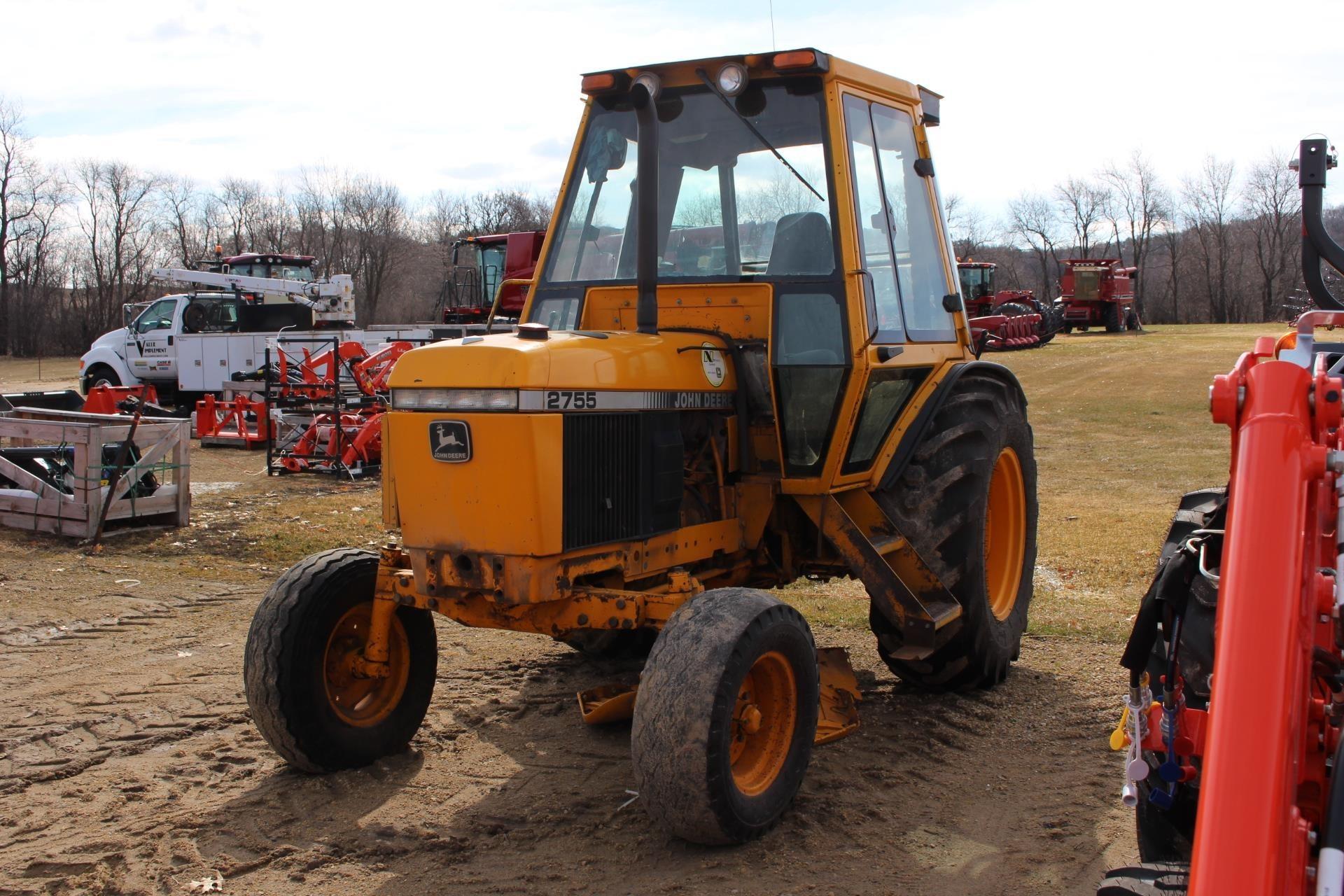 1992 John Deere 2755 Tractor