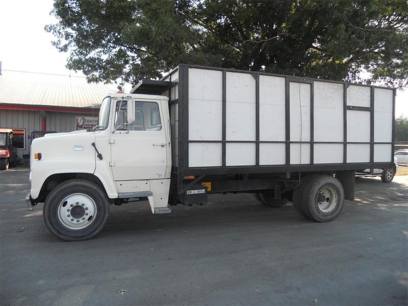 1981 Ford F700 Grain Truck
