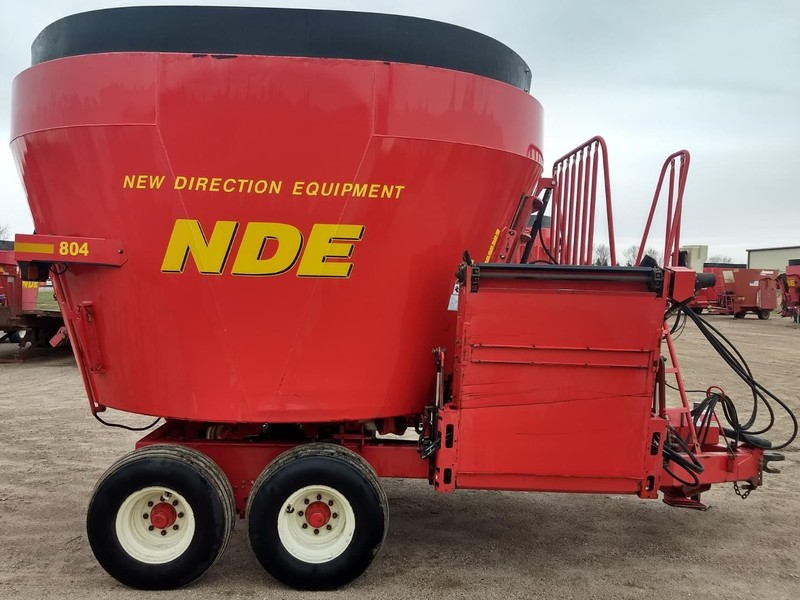 2015 NDE 804 Grinders and Mixer