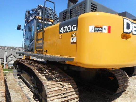 2011 Deere 470G LC Excavators and Mini Excavator