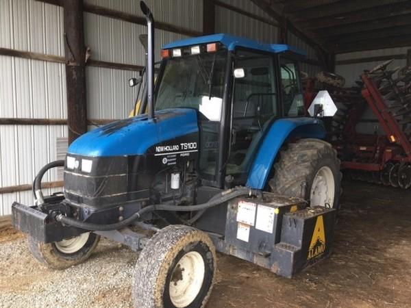Berühmt 1998 New Holland TS100 Tractor - Seymour, Indiana | Machinery Pete @RZ_13