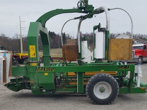 Used Bale Wrappers for Sale | Machinery Pete