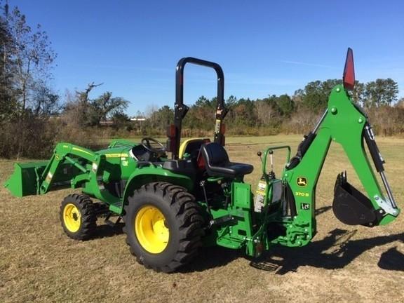 2021 John Deere 3038E TLB Tractor