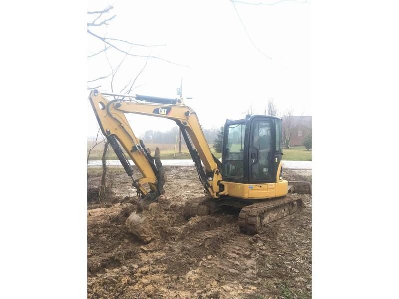 2012 Caterpillar 305.5D CR Excavators and Mini Excavator