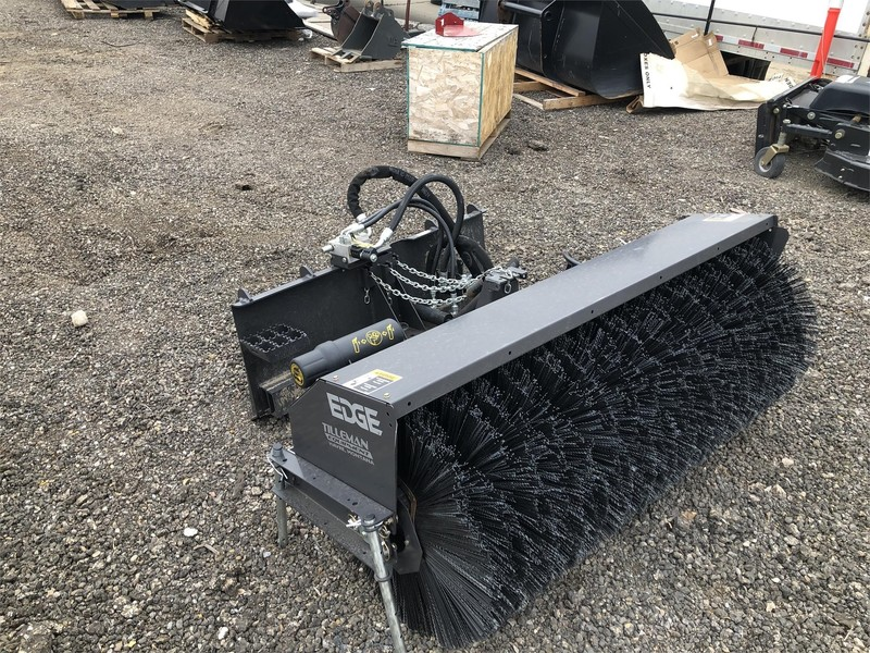 2019 EDGE SWEEPSTER Loader and Skid Steer Attachment