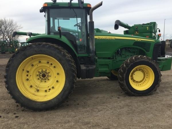 2002 John Deere 8120 Tractor