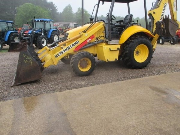 2007 New Holland B95 Backhoe