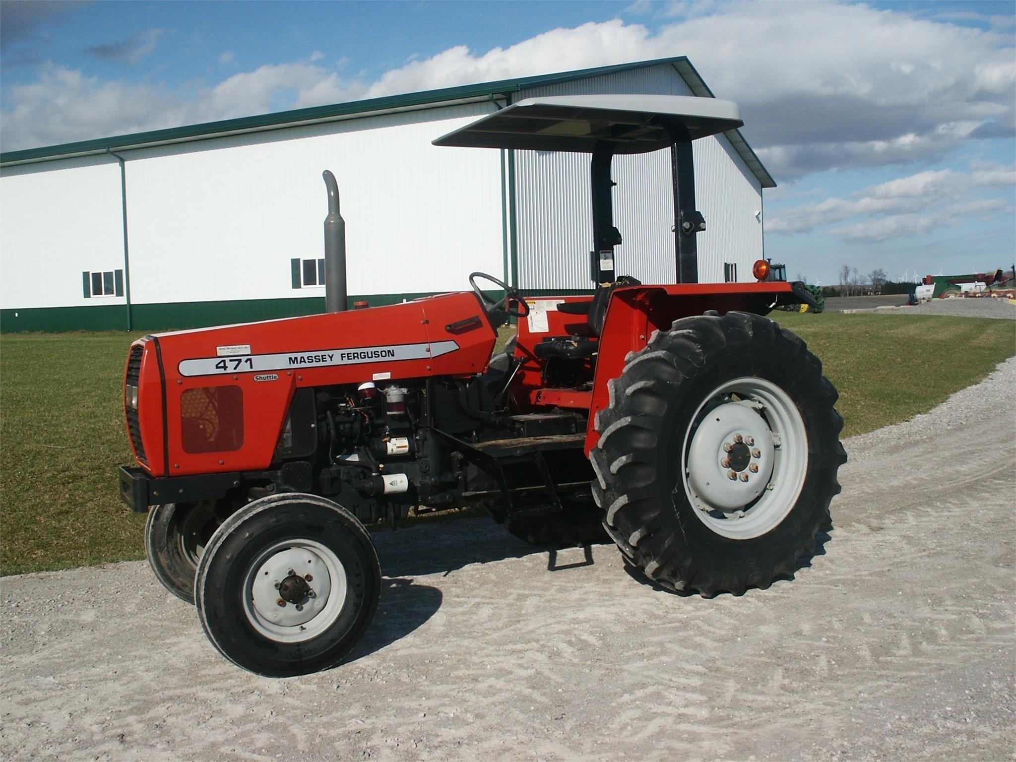 2003 Massey Ferguson 471 Tractor
