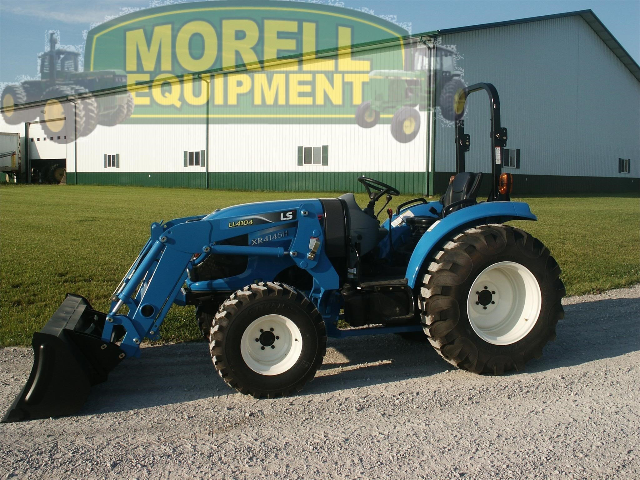 2020 LS XR4145H Tractor