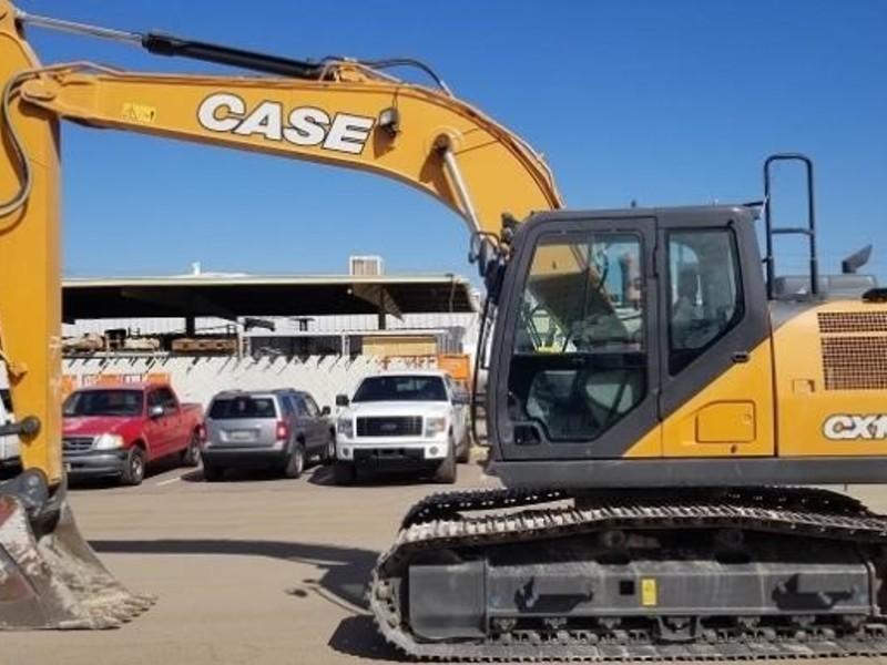2017 Case CX160D Excavators and Mini Excavator