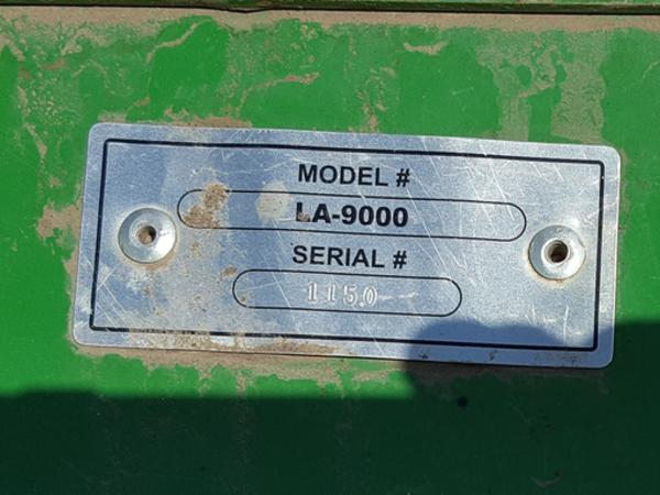 2013 Schaben LA9000 Toolbar