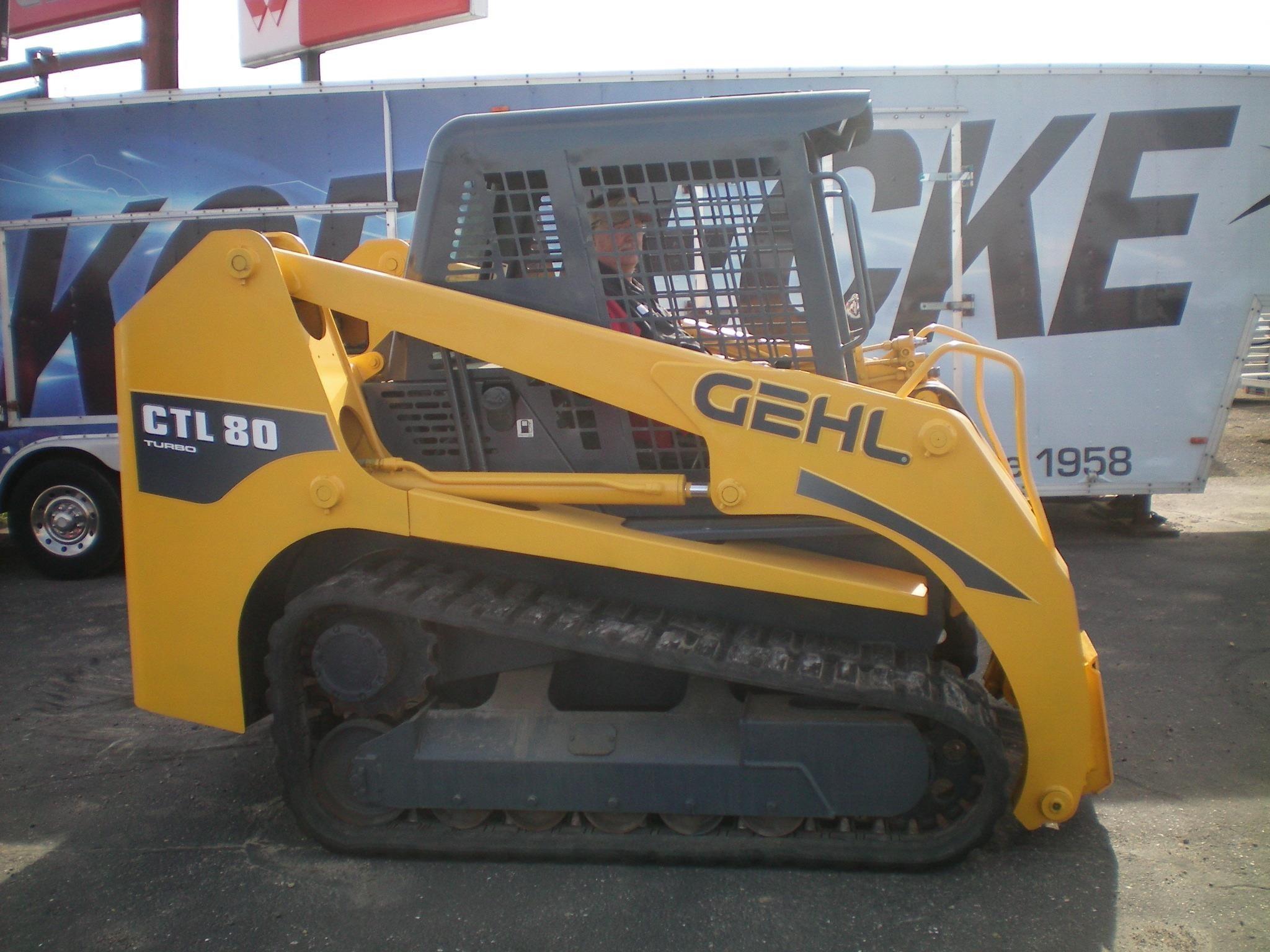 2004 Gehl CTL80 Skid Steer