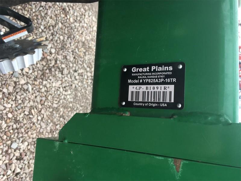 Great Plains YP825A3P Planter