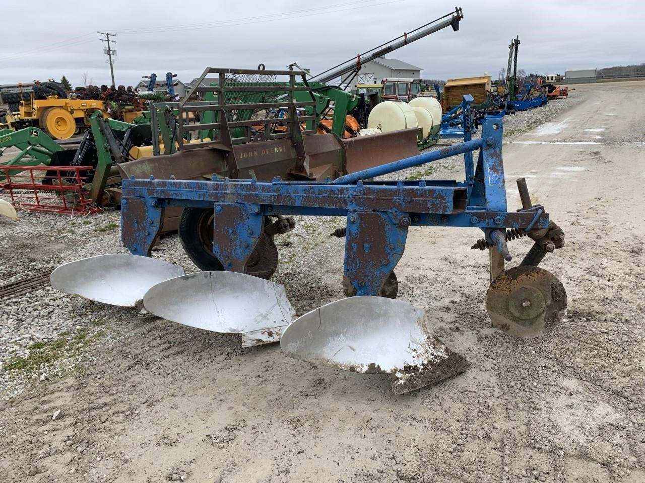 Ford 101 Plow