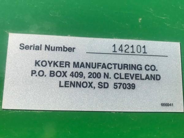 2017 Koyker 740 Front End Loader