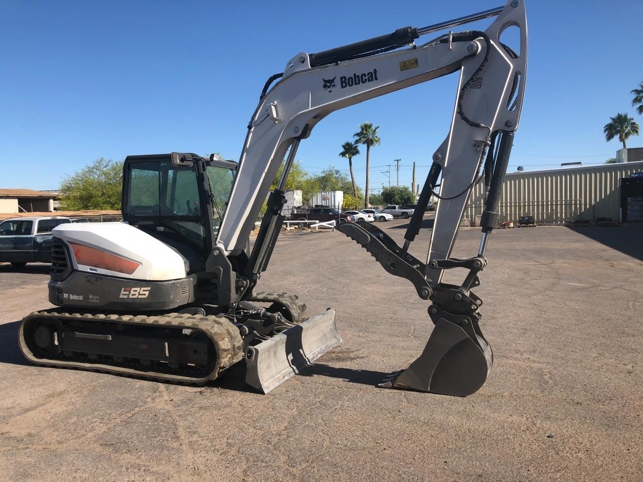 2019 Bobcat E85M Excavators and Mini Excavator