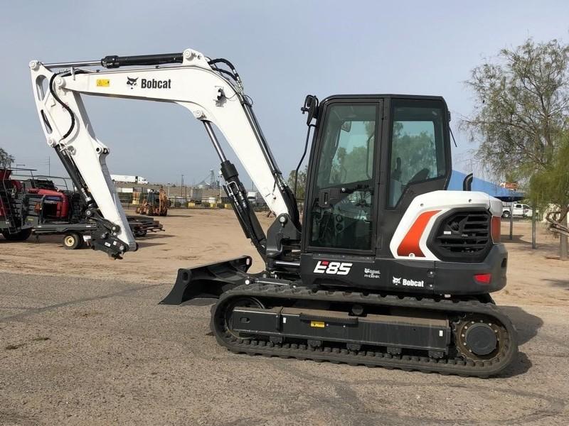 Used Bobcat E85 Excavators and Mini Excavators for Sale | Machinery Pete