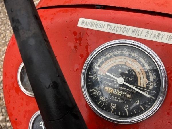 1964 Massey Ferguson 65 Tractor