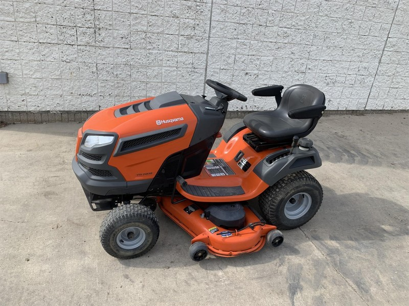 Used Husqvarna YTH24V48 Lawn and Garden for Sale | Machinery Pete