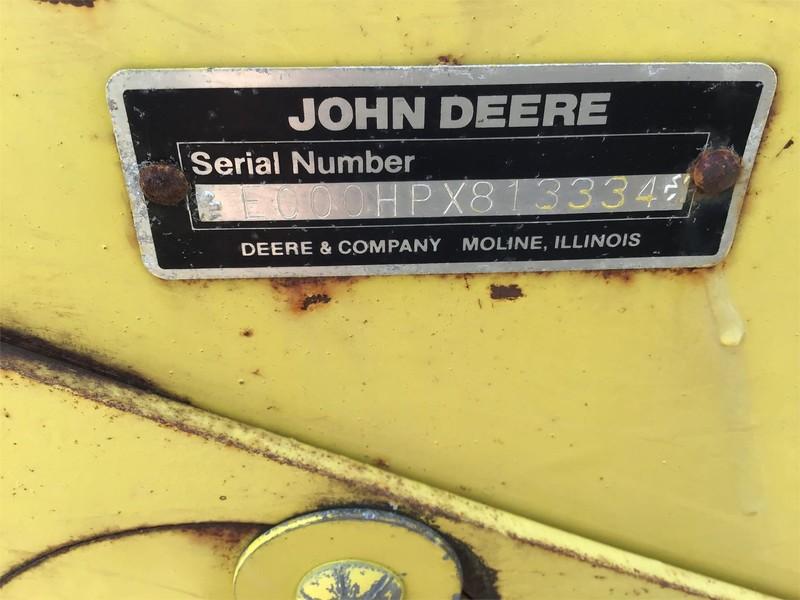 John Deere 7 Front End Loader