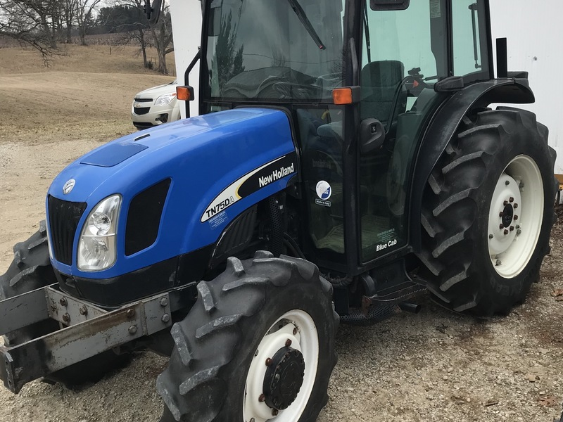 Used New Holland TN75DA Tractors for Sale | Machinery Pete