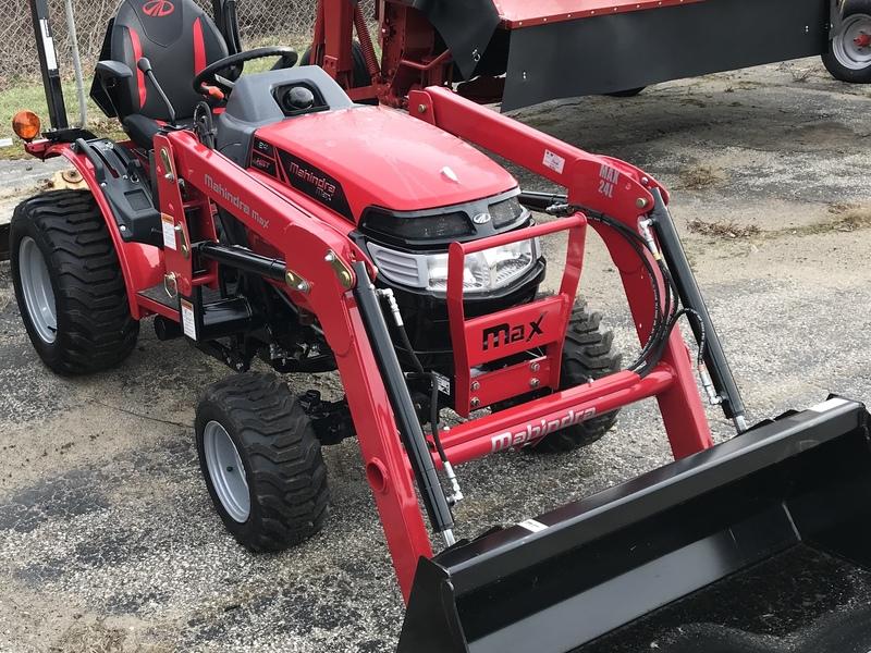 2019 Mahindra MAX 24 HST Tractor