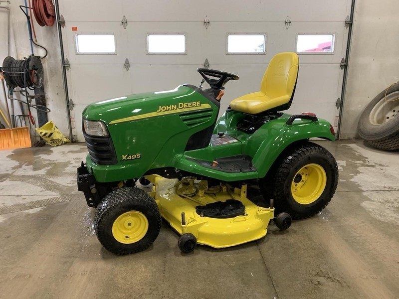 John Deere X495 Lawn and Garden for Sale | Machinery Pete