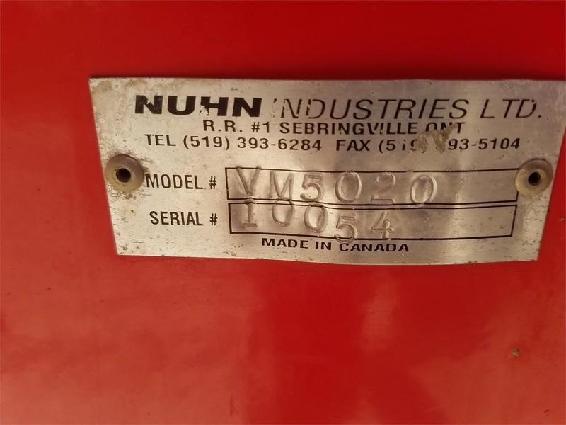 Nuhn 5000 Manure Spreader
