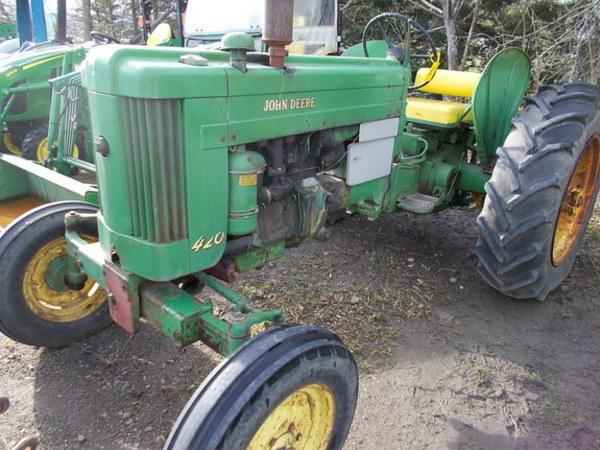 1958 John Deere 420 Tractor
