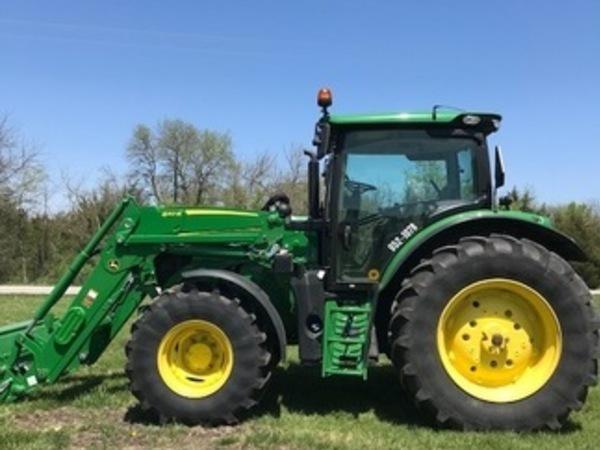 2017 John Deere 6120R Tractor
