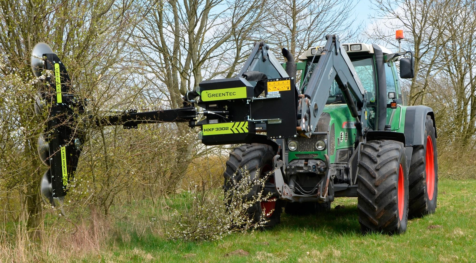 2020 GREENTEC LRS2002 Loader and Skid Steer Attachment