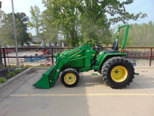 2002 john deere 790 tractor cabot, arkansas machinery pete John Deere 850B 2002 john deere 790 tractor $13,500