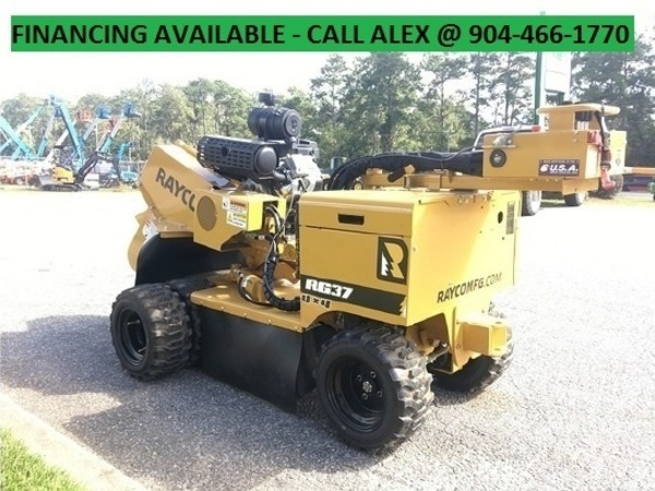 2019 Rayco RG37 TRAILER PACKAGE Forestry and Mining