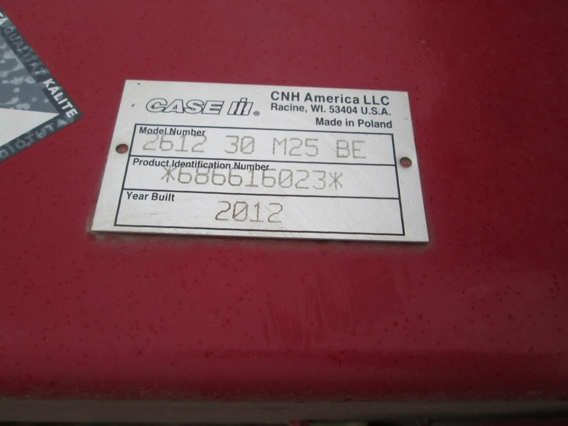 2012 Case IH 2612 Corn Head